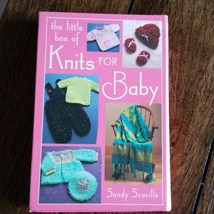 Other - The little box of Knits For Baby by Sandy Scoville